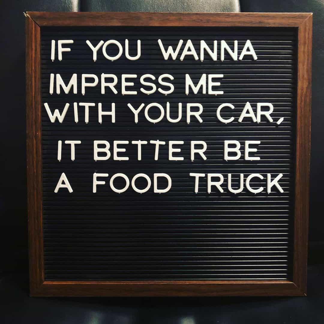 letterboard food truck